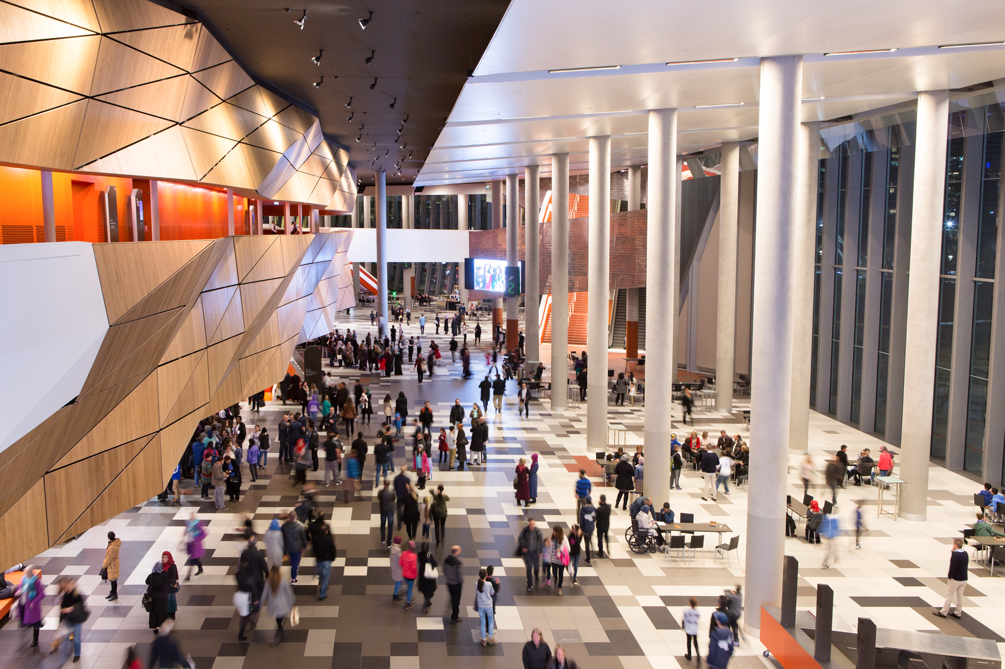 Melbourne Exhibition Centre Foyer
